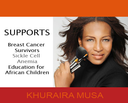 Khuraira Cosmetics Cares