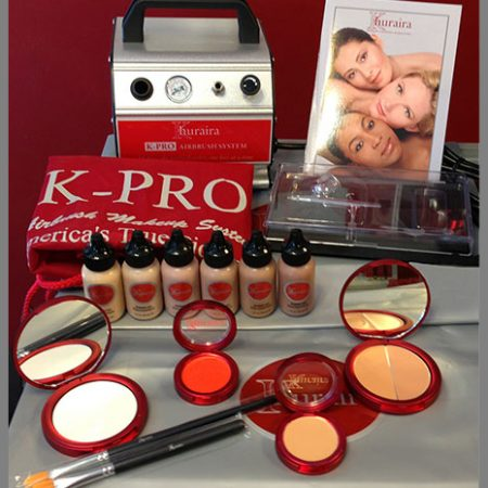 Khuraira Cosmetics K-PRO Airbrush Makeup Kit 2