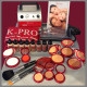 Khuraira Cosmetics K-PRO Airbrush Makeup Kit 4